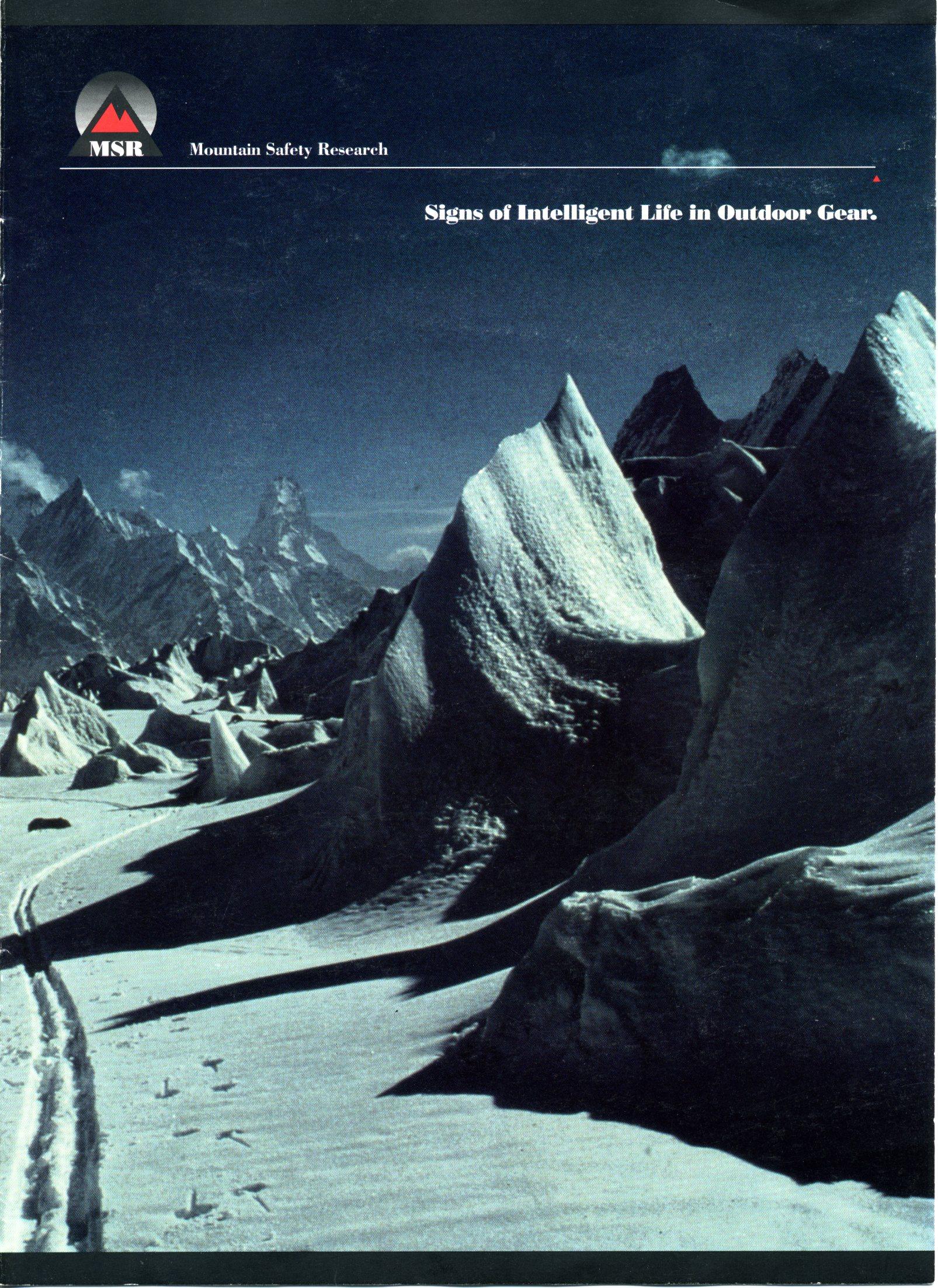 MSR Catalog from 1992