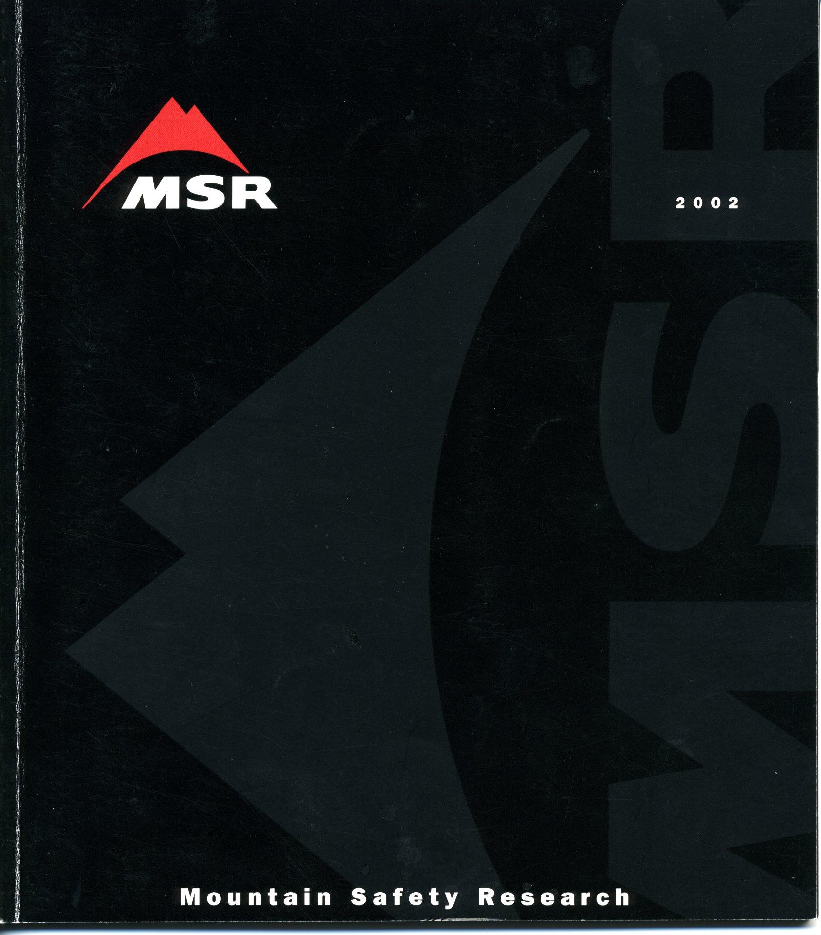 MSR catalog 2002