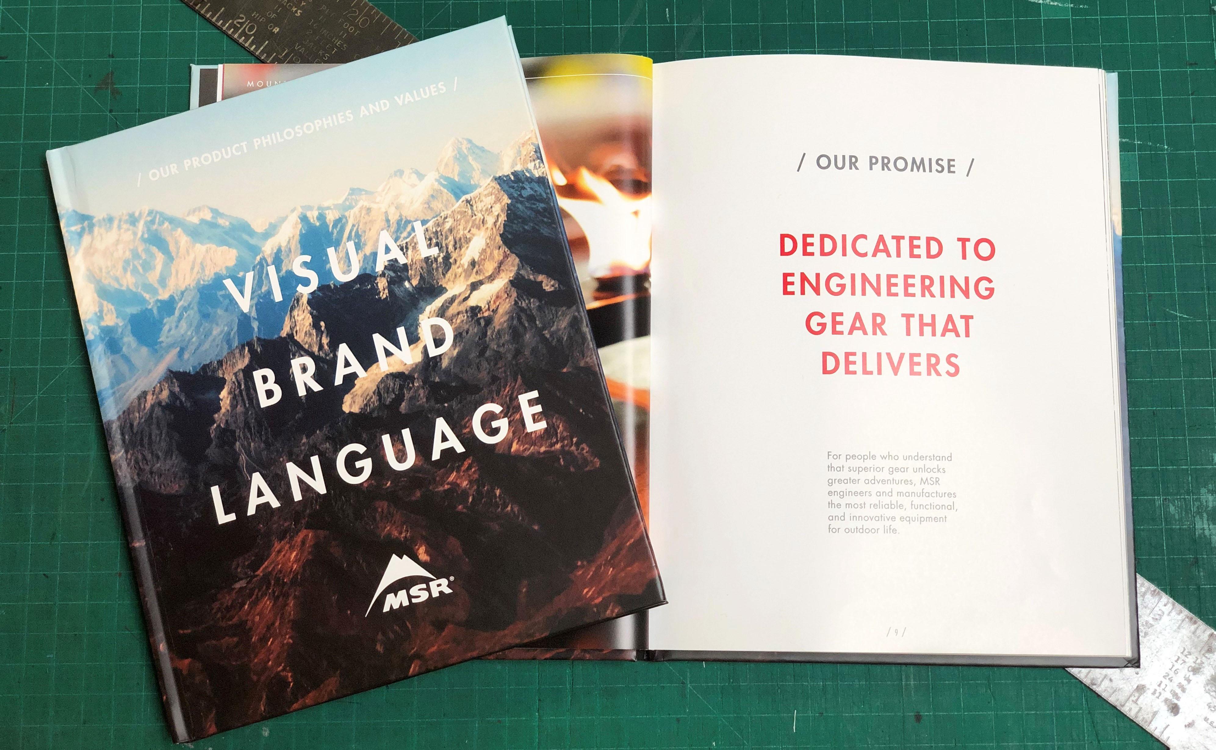 MSR visual brand language book