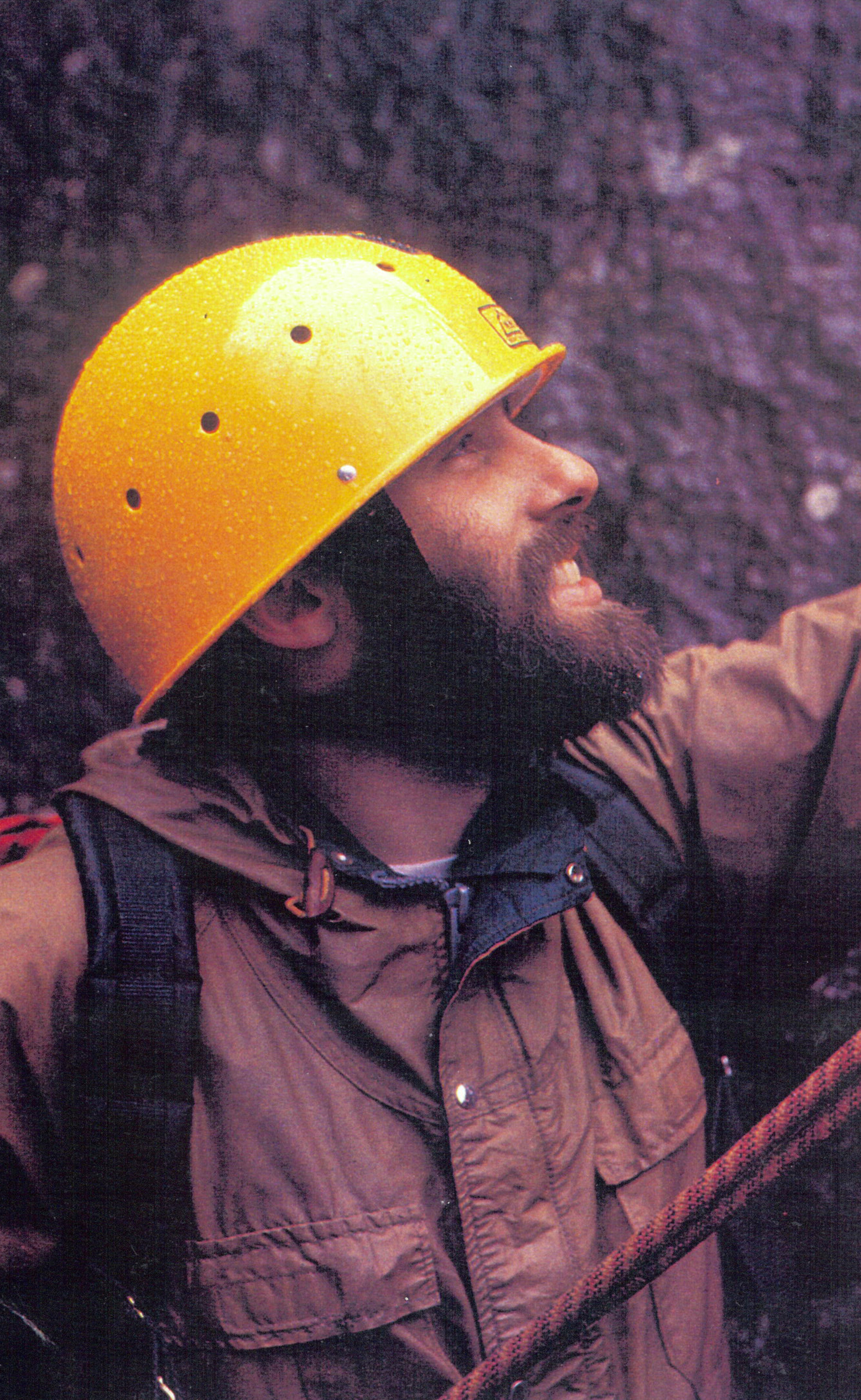 MSR climbing helmet