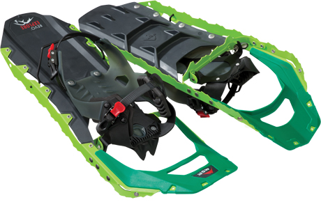 rolling terrain snowshoes