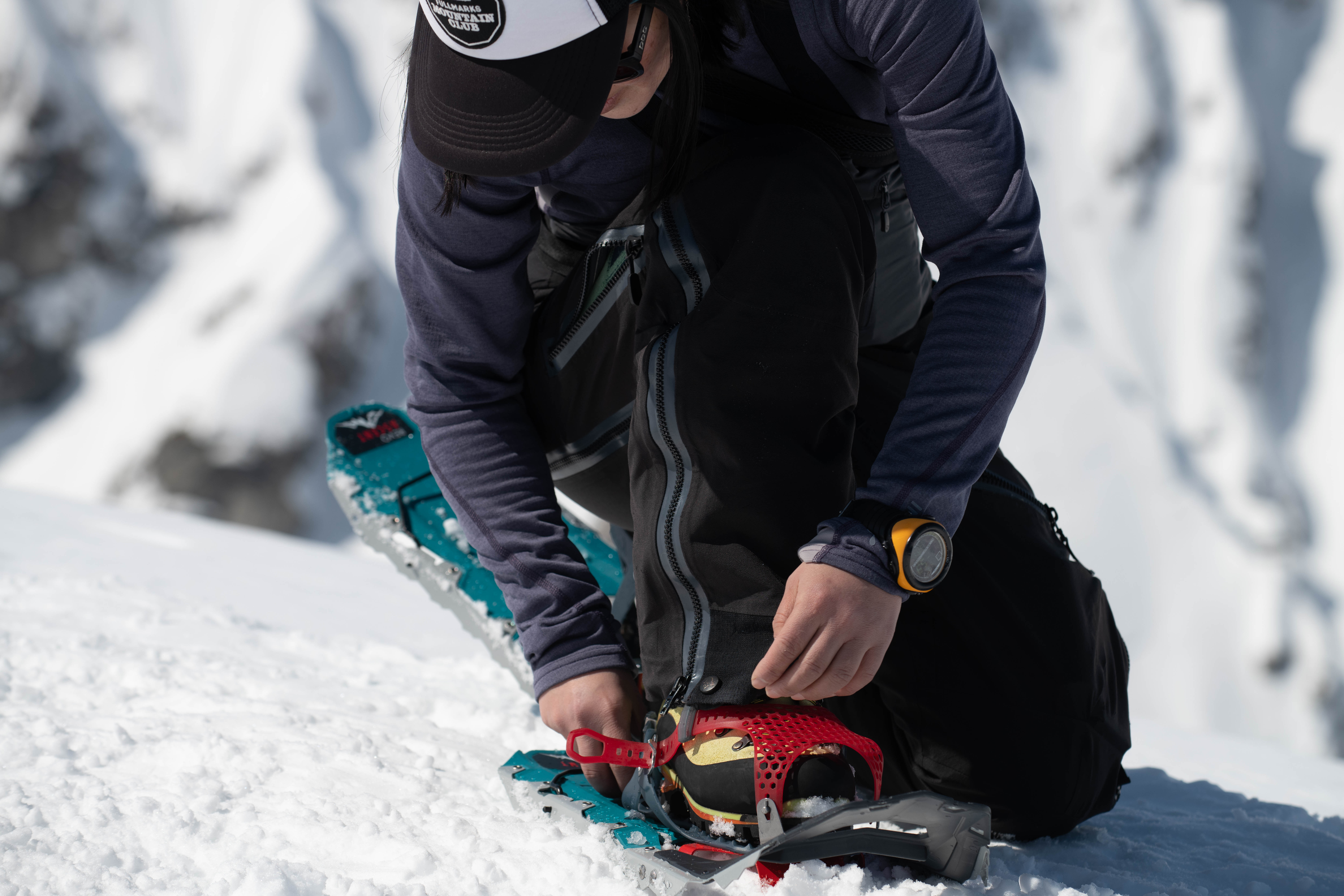 new msr paragon snowshoe binding in Japan