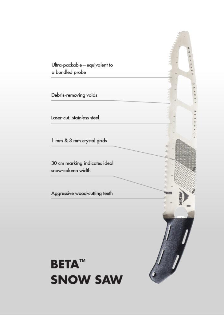 beta snow saw