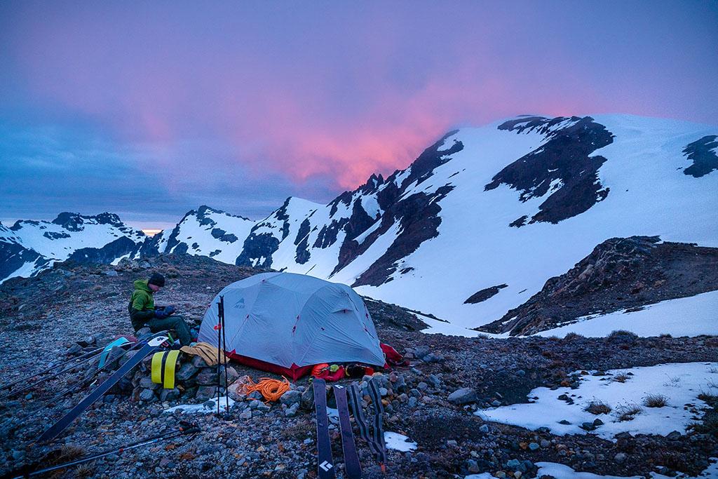 Glacier Gap camping