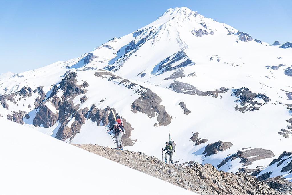 Glacier Peak hiking