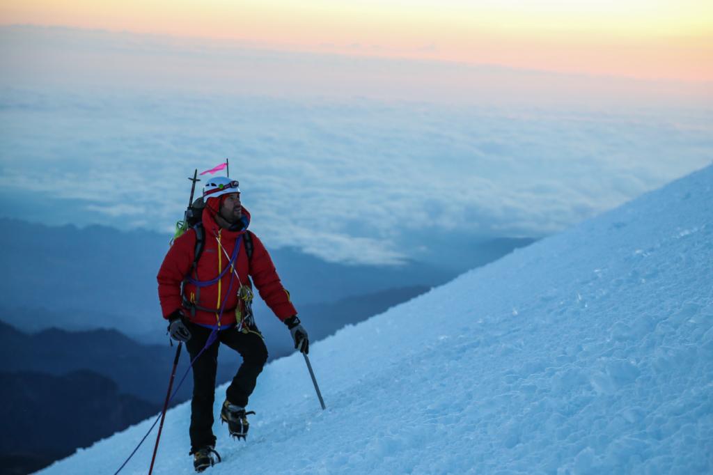 climbing at high altitude