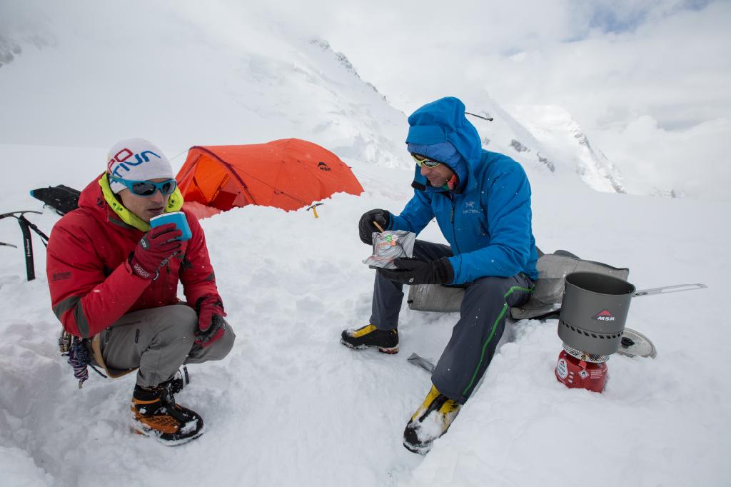 preparing food at high altitude