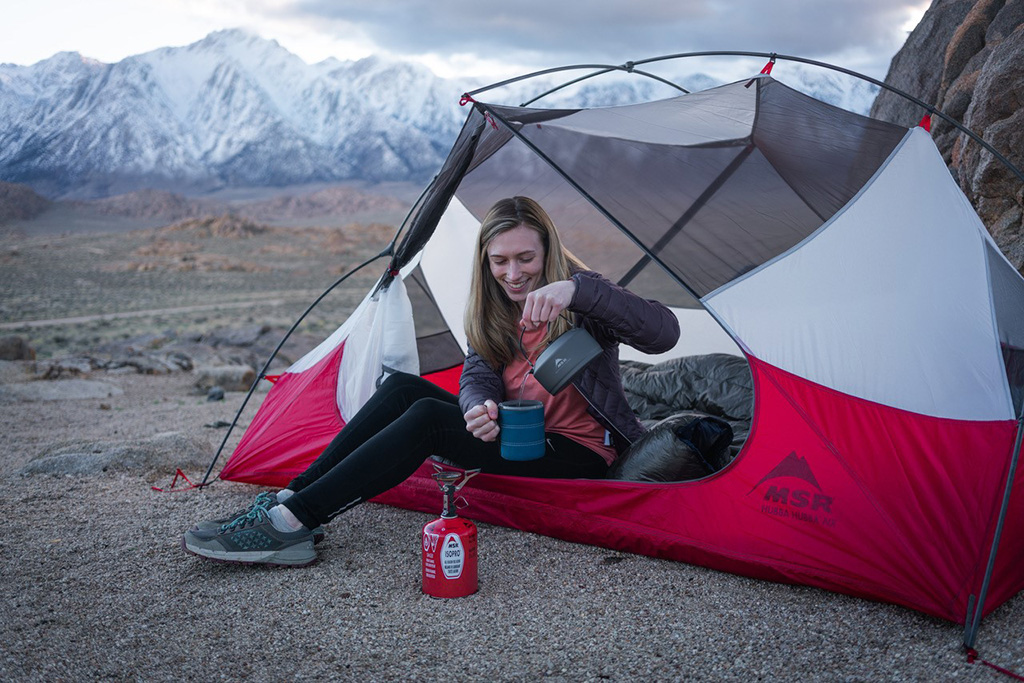 MSR Tent and Stove