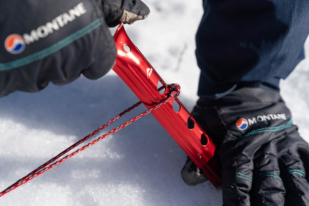 tent stakes for snow camping