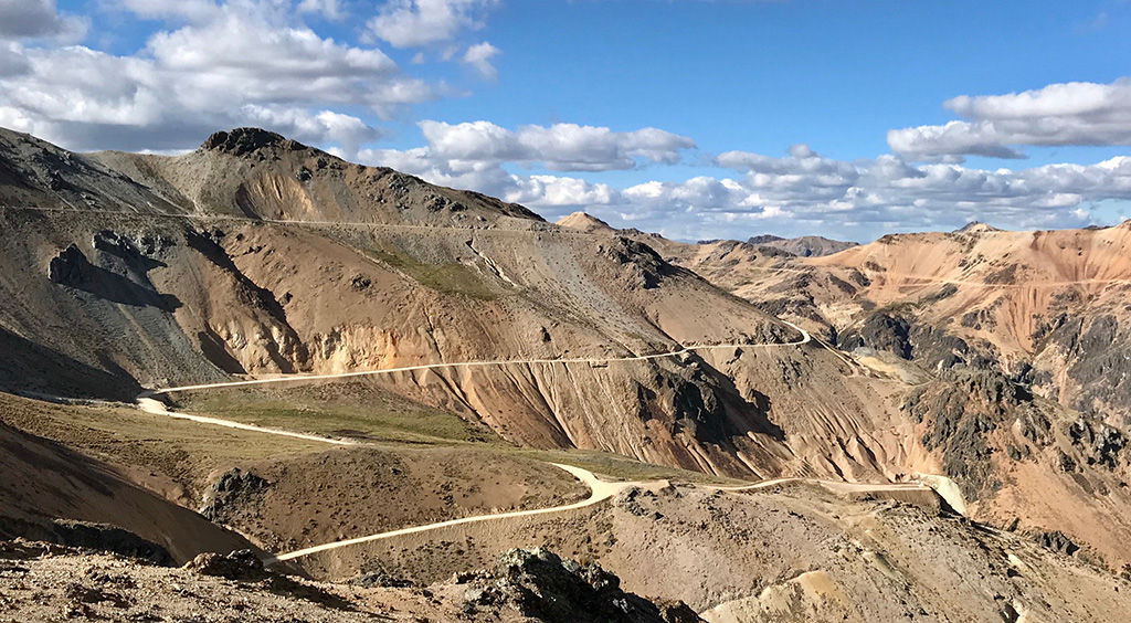 cycling the Peru Divide