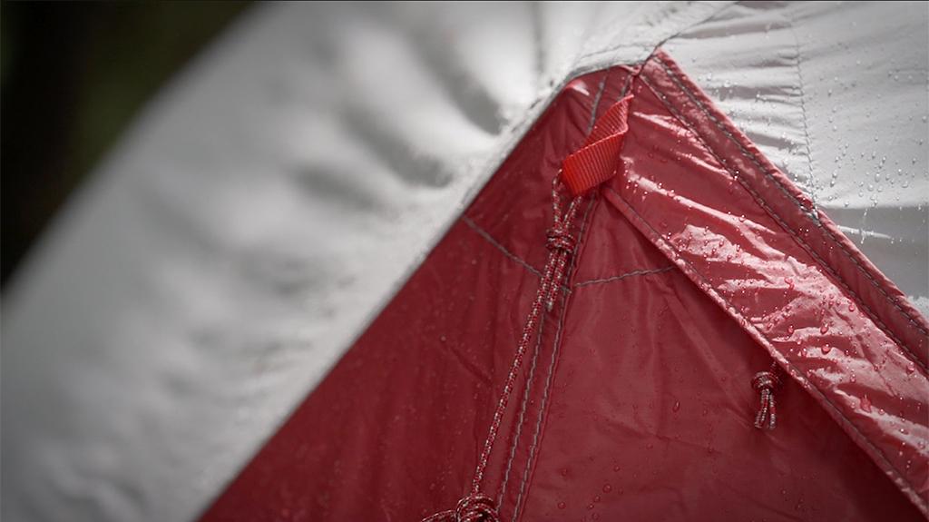 Hubba Hubba waterproof tent