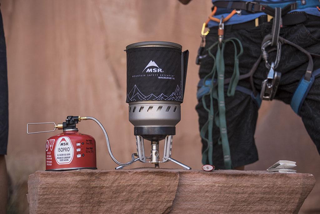 windburner climbing stove