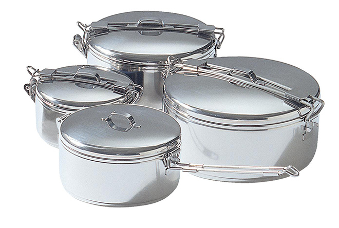 Alpine Stoawaway pots - backpacking cookware