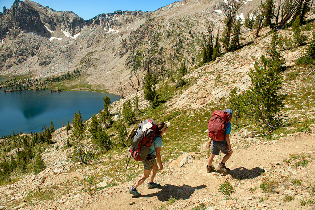 Backpacking in SAWTOOTHS