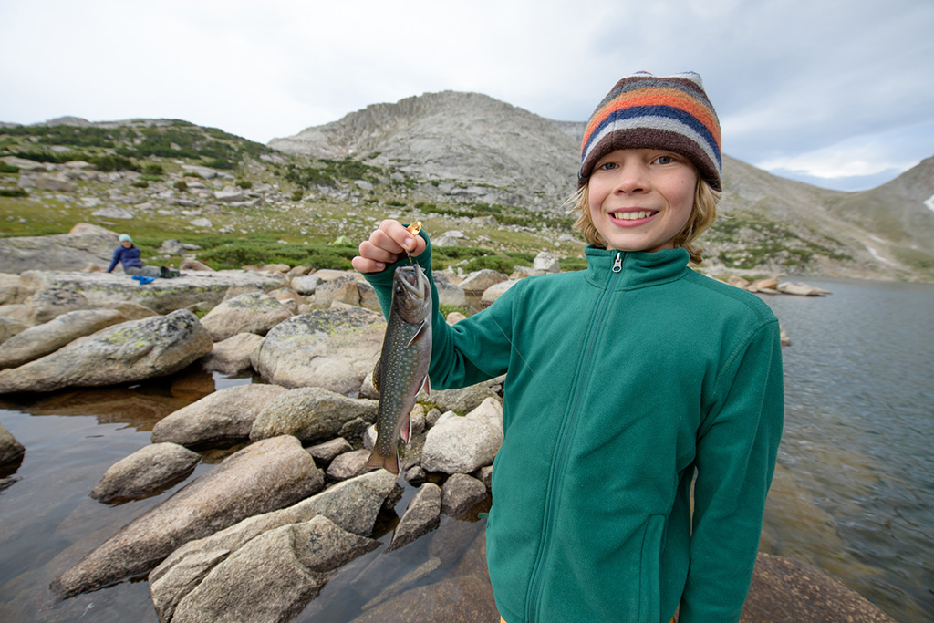 fishing in Wind River