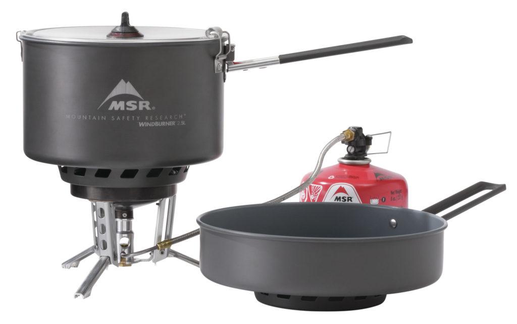 windburner combo stove system