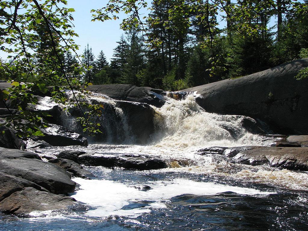 High Falls Trails
