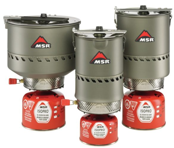 reactor stove systems from MSR