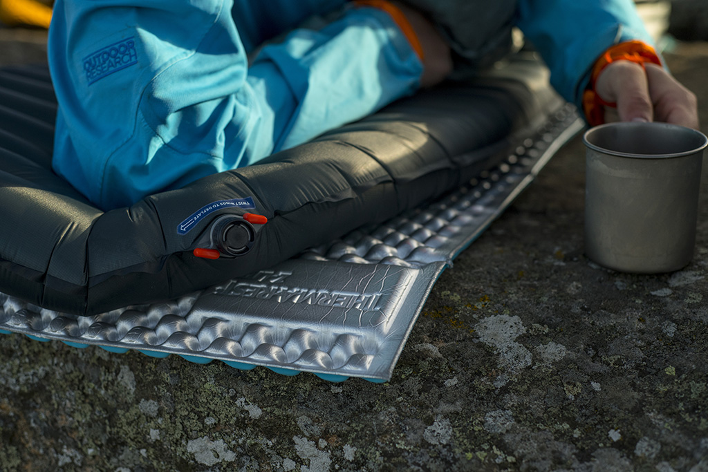 layered ultralight sleeping pads