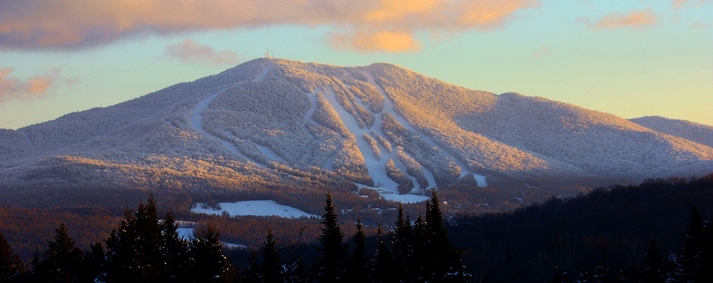 East Burke Vermont Snowshoeing