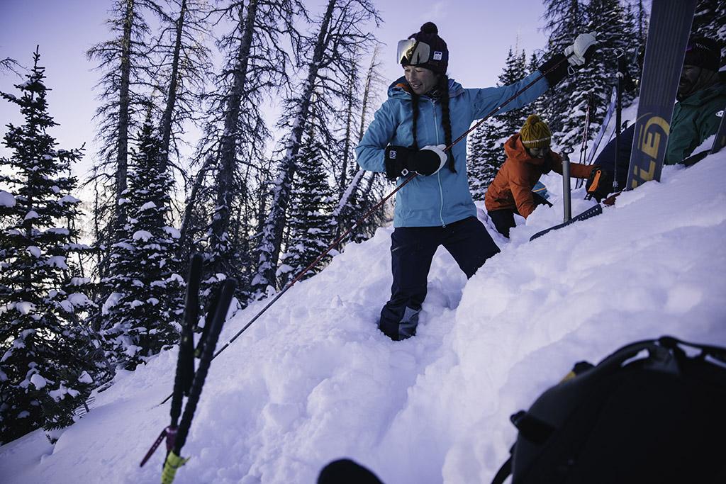 using avalanche probe