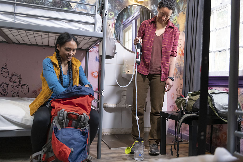 water purifier for international travel