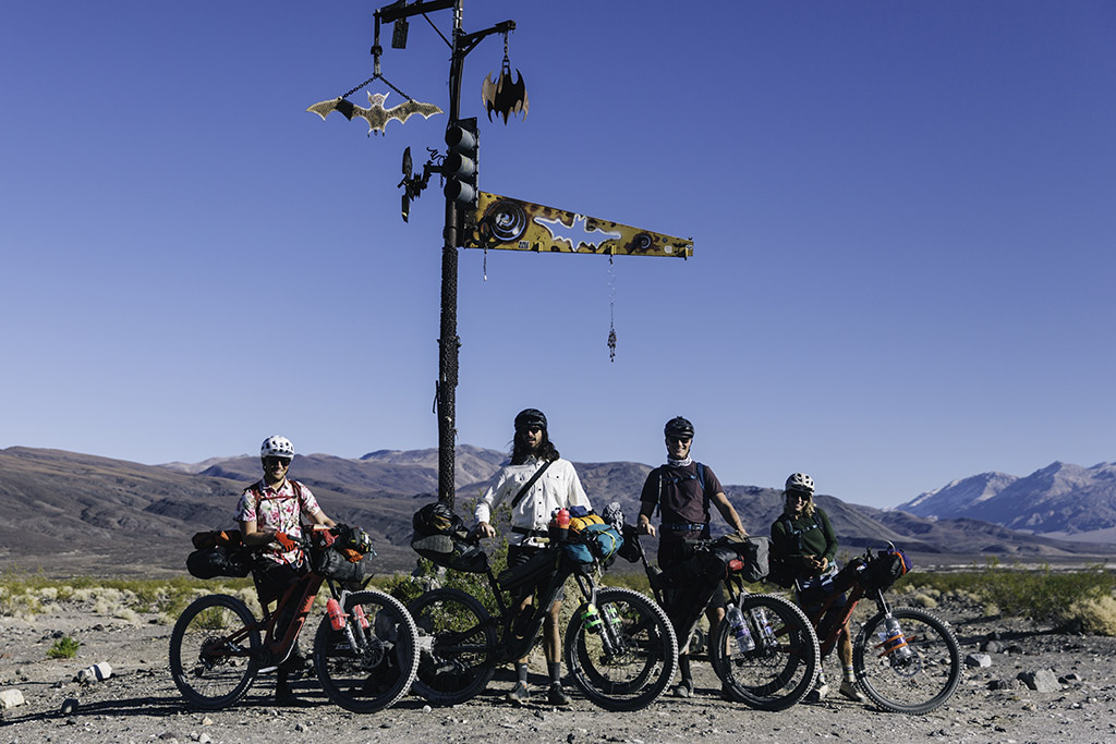 group bikepacking death valley