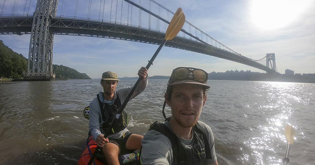 paddling hudson river
