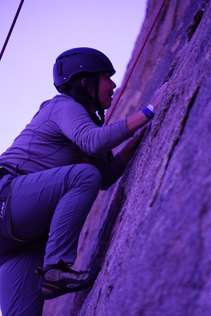 bolting safe route on first ascents