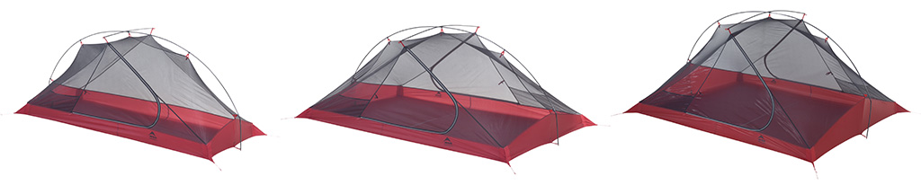 MSR Tents Carbon Reflex Series