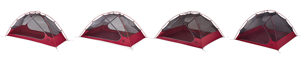 MSR Tents Zoic Series