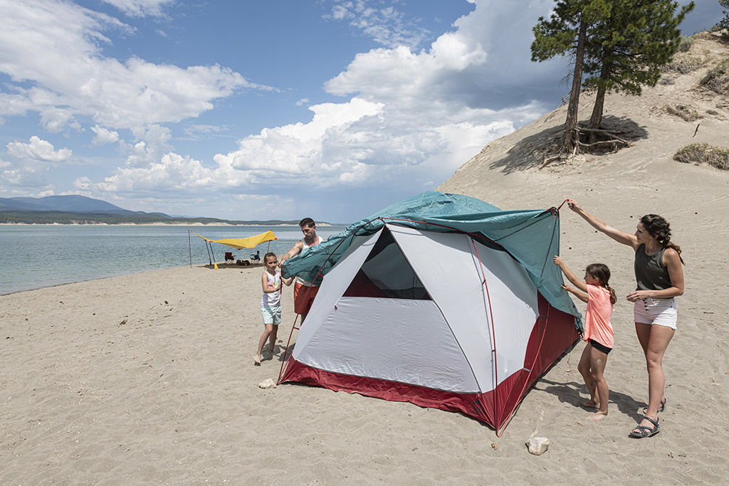 frontcountry camping msr tents