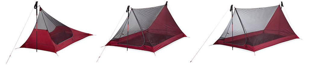 thru hiker mesh tent series
