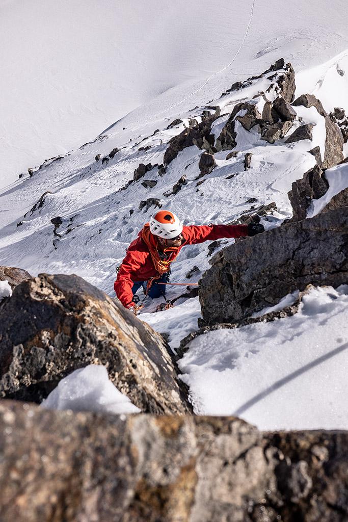 climbing the tien shan mountains