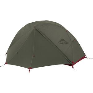 Elixir™ 1 Backpacking Tent - Green - Rain Door Closed