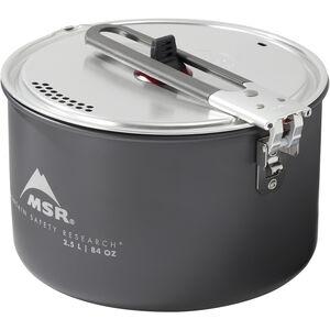 MSR Ceramic 2.5 Liter Pot | Strainer Lid
