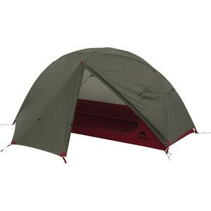 Elixir™ 1 Backpacking Tent - Green - Rain Door Open