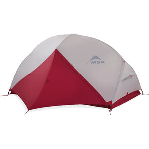 MSR Hubba Hubba NX Backpacking Tent - Fly Door Closed