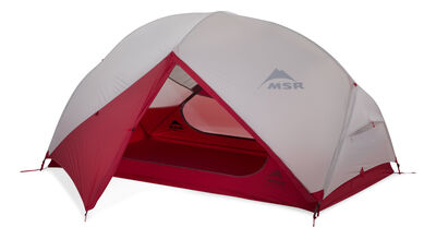 MSR Hubba Hubba NX Backpacking Tent - Fly Door Open