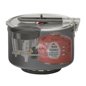 MSR WindBurner® Sauce Pot - xray (stove and fuel canister not included)