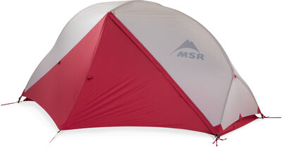 MSR Hubba NX Backpacking Tent - Rainfly Door Closed