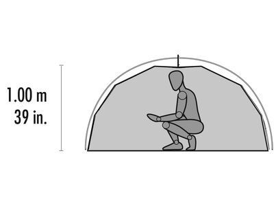 Elixir™ 1 Backpacking Tent Interior