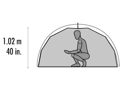 Elixir™ 2 Backpacking Tent, , large