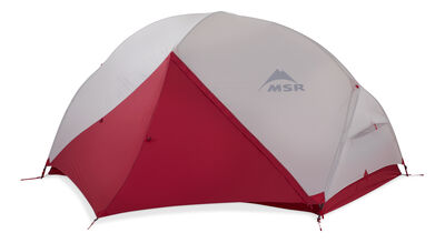MSR Hubba Hubba NX Backpacking Tent - Fly Door Closed
