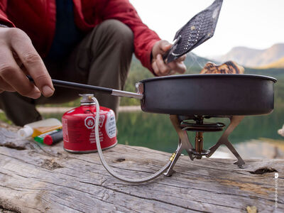 MSR WindPro II Liquid Fuel Stove [photo: Scott Rinckenberger]