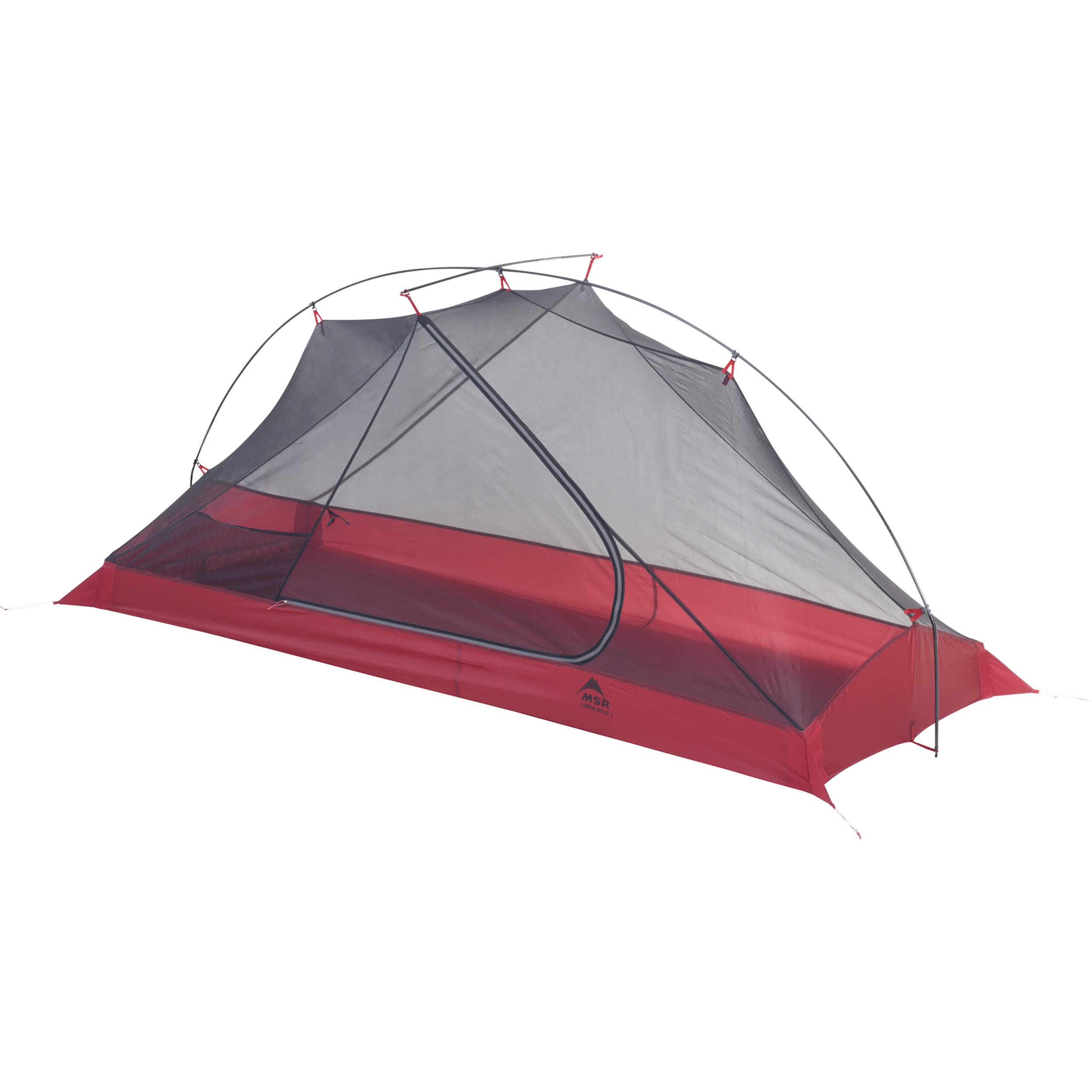 Carbon Reflex 1 Featherweight Tent Backpacking Tents Msr